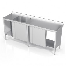 N/T galds-skapis 2100*700 ar izlietni
