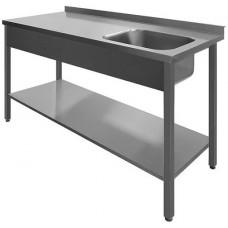N/T galds 1500*600 ar izlietni un plauktu