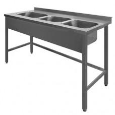 N/T galds 1700*700 ar 3 izlietnēm